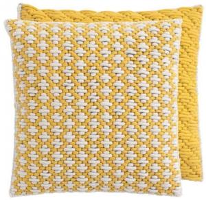 Декоративная подушка Silai Cushion 50X50 CM желтая