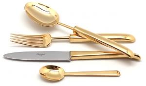 Столовые приборы Carra Gold 24 предмета