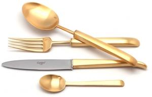 Столовые приборы Carre Gold Mate 72 предмета