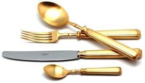 Набор столовых приборов Piccadilly Gold 130 предметов на 12 персон
