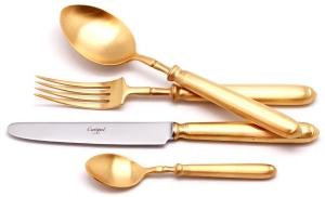 Столовые приборы Mithos Gold Mate 24 предмета