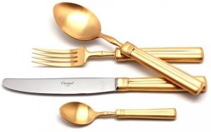 Набор столовых приборов Fontainebleau Gold 130 предметов на 12 персон