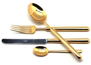 Столовые приборы Bali Gold 24 предмета