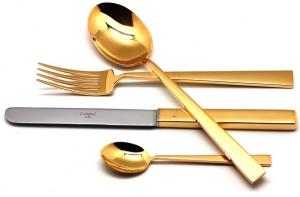 Столовые приборы Bauhaus Gold 24 предмета