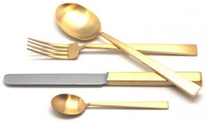 Столовые приборы Bauhaus Gold Mate 72 предмета