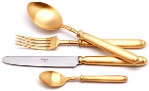 Столовые приборы Mithos Gold 24 предмета