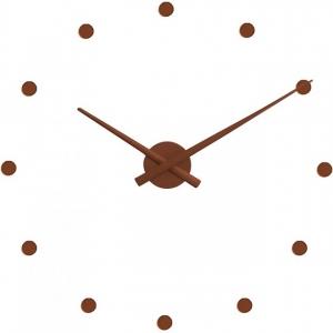 Настенные часы OJ Ø50 CM коричневые