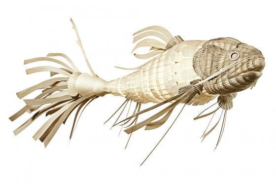 Подвесной светильник в форме рыбы KOI LS 352X175 CM 1