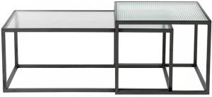 Набор столиков кофейных Boli 50X50X50 / 90X45X35 CM
