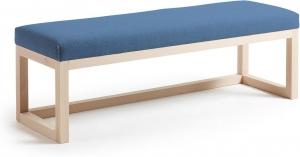 Банкетка Yola 128X42X41 CM синяя