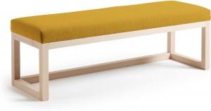 Банкетка Yola 128X42X41 CM желтая