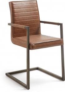Кресло Type 52X57X89 CM коричневое