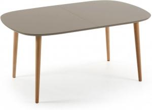 Овальный стол Oakland Brown 160-260X100 CM