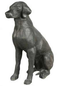 Скульптура Labrador 28X57X70 CM