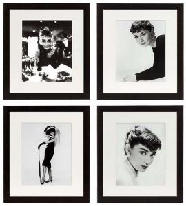 Постеры Audrey Hepburn 45X45 / 45X45 / 45X45 / 45X45 CM