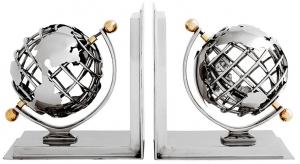 Держатель для книг Globe (набор из 2 шт.)