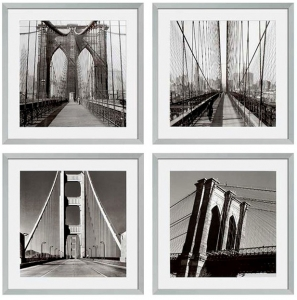 Постеры New York Bridges 59X59 / 59X59 / 59X59 / 59X59 CM