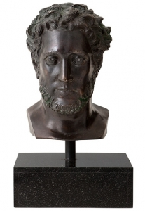 Скульптура Head Alexandrie 35X31X60 CM