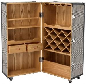 Винный шкаф-сундук Martini Bianco 88X88X122 CM