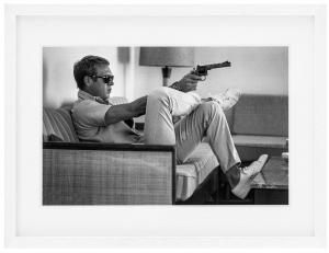 Постеры Steve McQueen takes Aim 85X65 CM