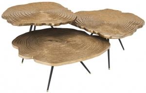 Журнальный стол Quercus 67X67X40 / 67X67X35 / 67X67X29 CM