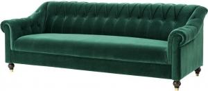 Диван Brian 230X90X82 CM зелёный