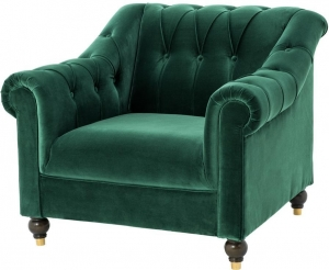 Кресло Brian 82X99X90 CM зелёное