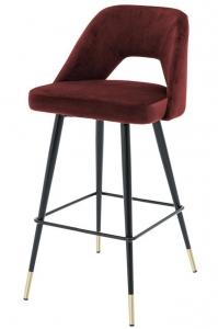 Барный стул Avorio 50X50X100 CM красный