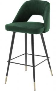 Барный стул Avorio 50X50X100 CM зелёный