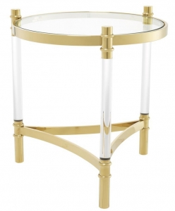 Журнальный столик круглой формы Trento 50X50X55 CM