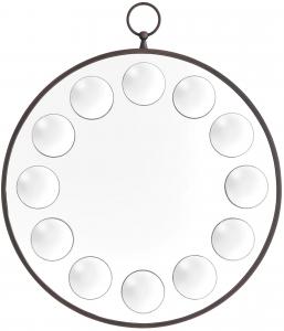 Зеркало в латунной раме Capistrano 60X70 CM