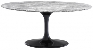 Обеденный стол из мрамора Solo 170X110X75 CM