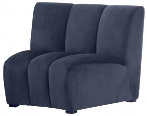Модуль дивана Lando 109X95X83 CM синего цвета