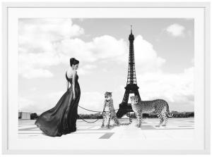Постер Trocadero View 115X85 CM