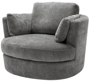 Вращающееся кресло Clarissa 110X100X70 CM