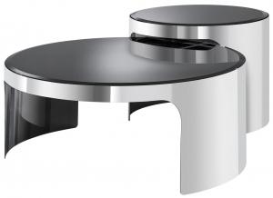 Журнальные столики Piemonte 60X60X30 / 45X45X40 CM