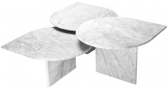 Сет столиков Naples 80X70X41 / 80X70X35 / 80X70X30 CM 2
