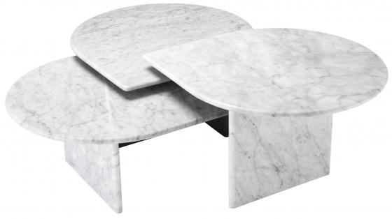 Сет столиков Naples 80X70X41 / 80X70X35 / 80X70X30 CM 1