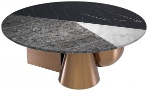 Журнальный столик Tricolori 120X120X43 CM