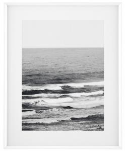 Постер в белой деревянной раме Gentle Escape 83X103 CM