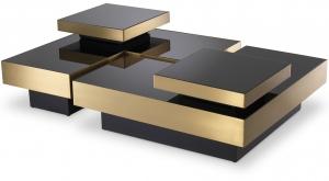 Комплект столиков Nio 80X80X23 / 80X80X23 / 40X40X10 / 40X40X10 CM
