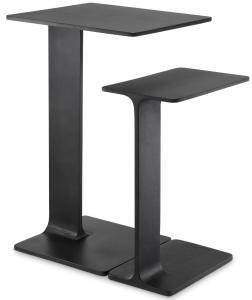 Комплект из двух приставных столиков Smart 45X40X72 / 40X25X55 CM