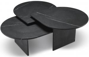 Сет столиков Naples 80X70X41 / 80X70X35 / 80X70X30 CM