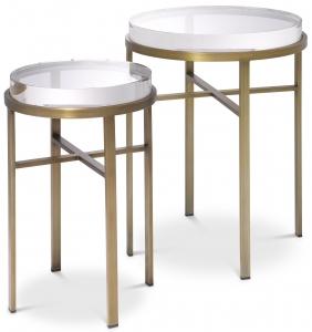 Приставные столики Hoxton 40X40X56 / 30X30X49 CM