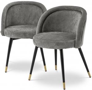 Комплект из двух стульев Chloe 58X58X77 / 58X58X77 CM