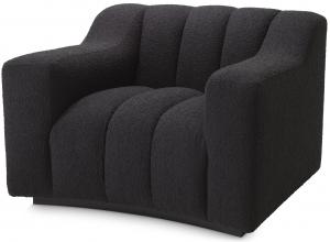 Кресло Kelly 107X96X79 чёрного цвета