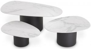 Набор столиков Zane 120X60X42 / 81X55X37 / 73X49X29 CM