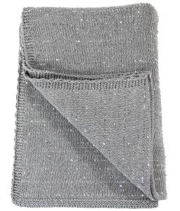 Плед из чёсаного хлопка Silver Snow 130X180 CM