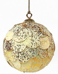 Шар новогодний декоративный Paper ball 9X9X9 CM