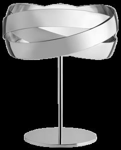 Настольная лампа SISO 48X48X59 CM Silver